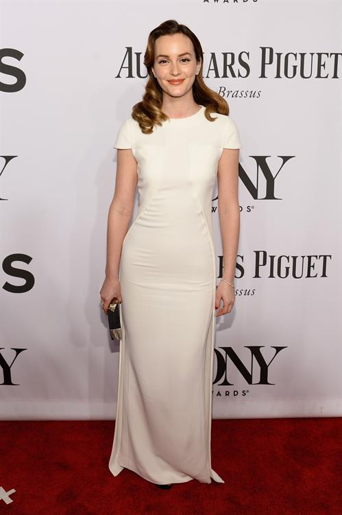 Leighton Meester at 68th Annual Tony Awards at Radio City Music Hall June 8, 2014