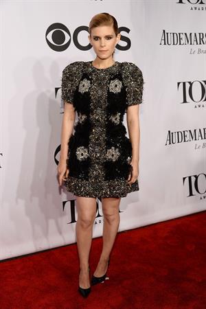 Kate Mara at 68th Annual Tony Awards at Radio City Music Hall June 8, 2014