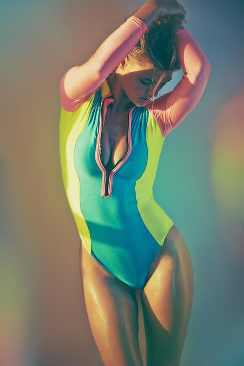 Kelly Rohrbach in a bikini