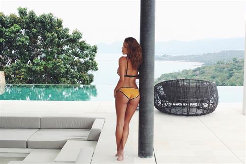 Devin Brugman in a bikini - ass