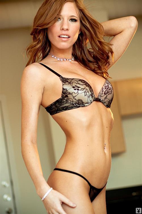 Bree Morgan in lingerie