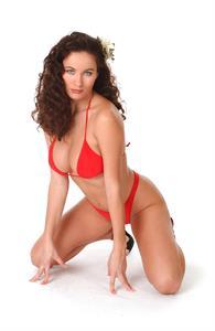 Kyla Cole in a bikini
