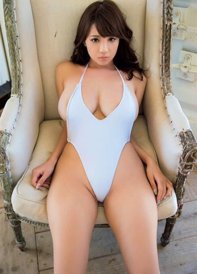 Rara Anzai in a bikini
