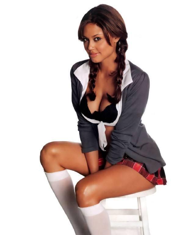 Vanessa Minnillo in lingerie