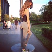 Yanet Garcia in Yoga Pants - ass