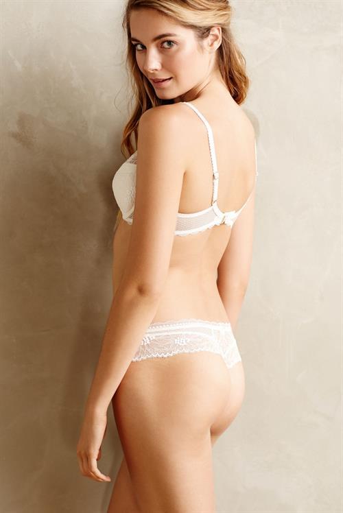 Bridget Malcolm in lingerie - ass