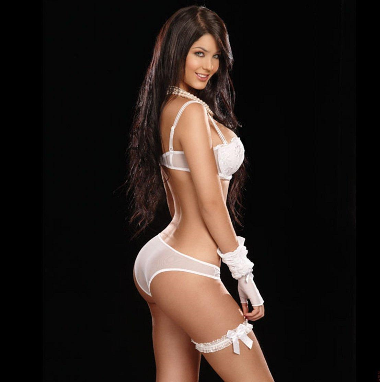 Mariana Davalos in lingerie