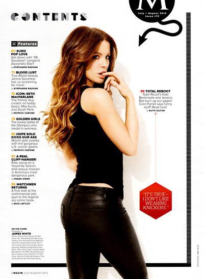 Kate Beckinsale - ass