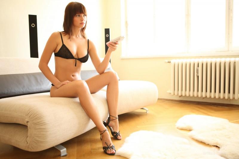 Samantha Star in lingerie