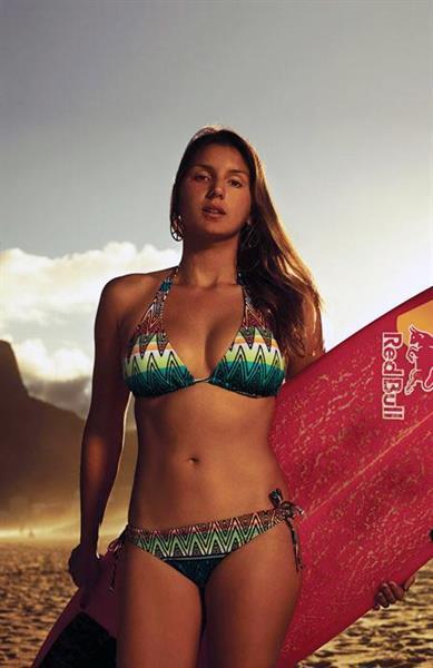 Maya Gabeira in a bikini