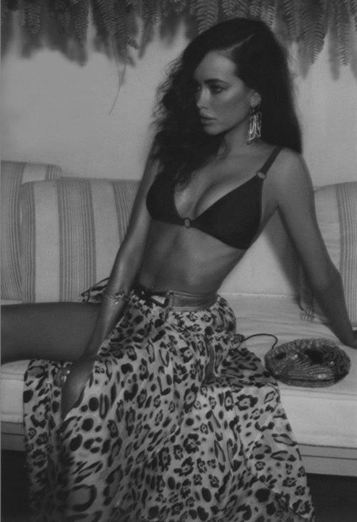 Sarah Stephens in a bikini