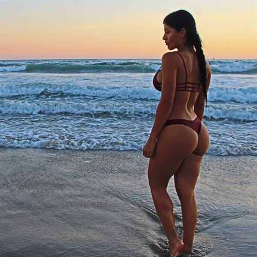 Karen Vi in a bikini - ass