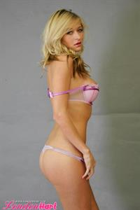 London Hart in lingerie - ass