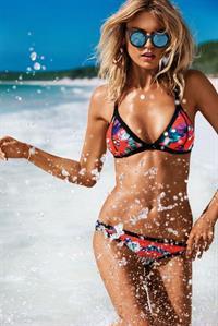 Martha Hunt in a bikini