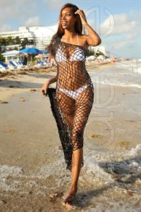 Jessica White in a bikini