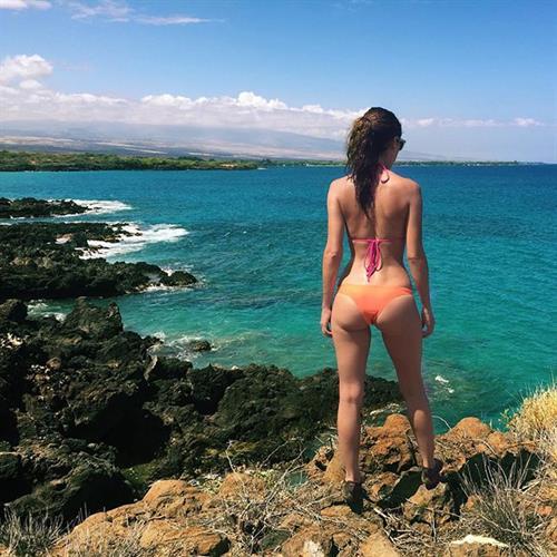 Mercedes Terrell in a bikini - ass