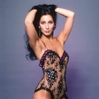 Cher in lingerie