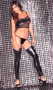 Marlina Moreno in lingerie