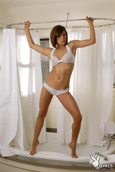 Alisha Jones in lingerie