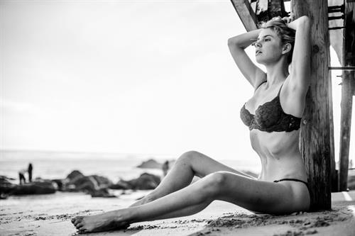 Kayslee Don Collins in a bikini