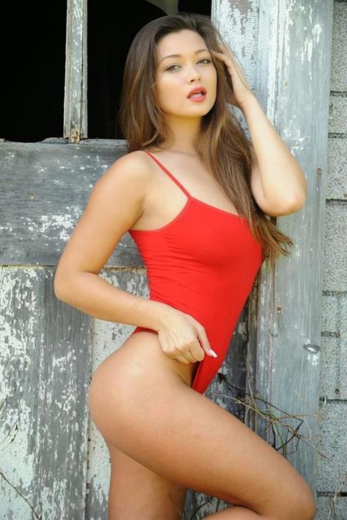 Chelsie Aryn Miller in a bikini