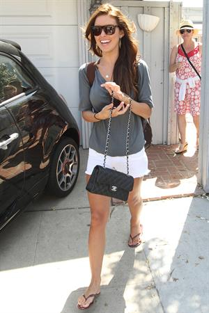 Audrina Patridge leaving FIAT Beach House