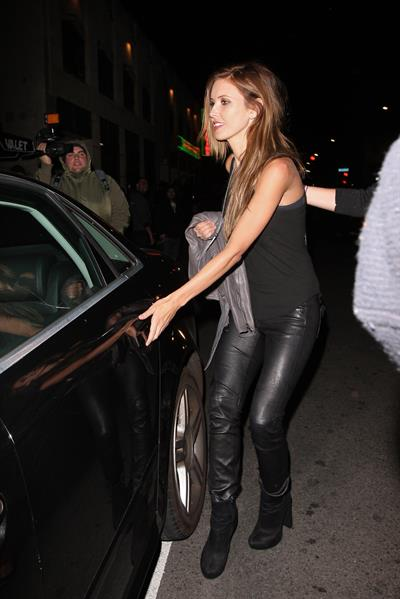 Audrina Patridge at Sayers Nightclub in Hollywood 12/13/12