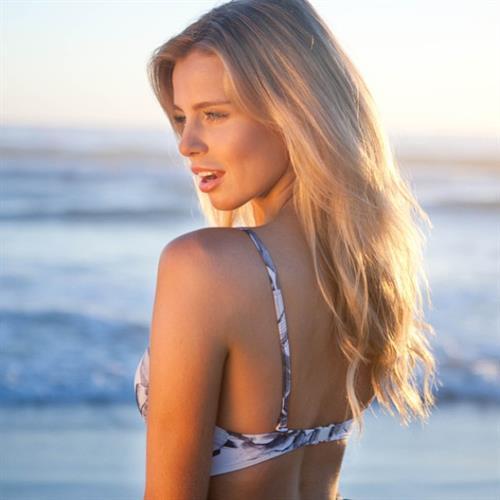 Tegan Martin in a bikini