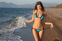 Maria Ryabushkina in a bikini