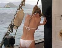 Cheryl Ladd in a bikini - ass