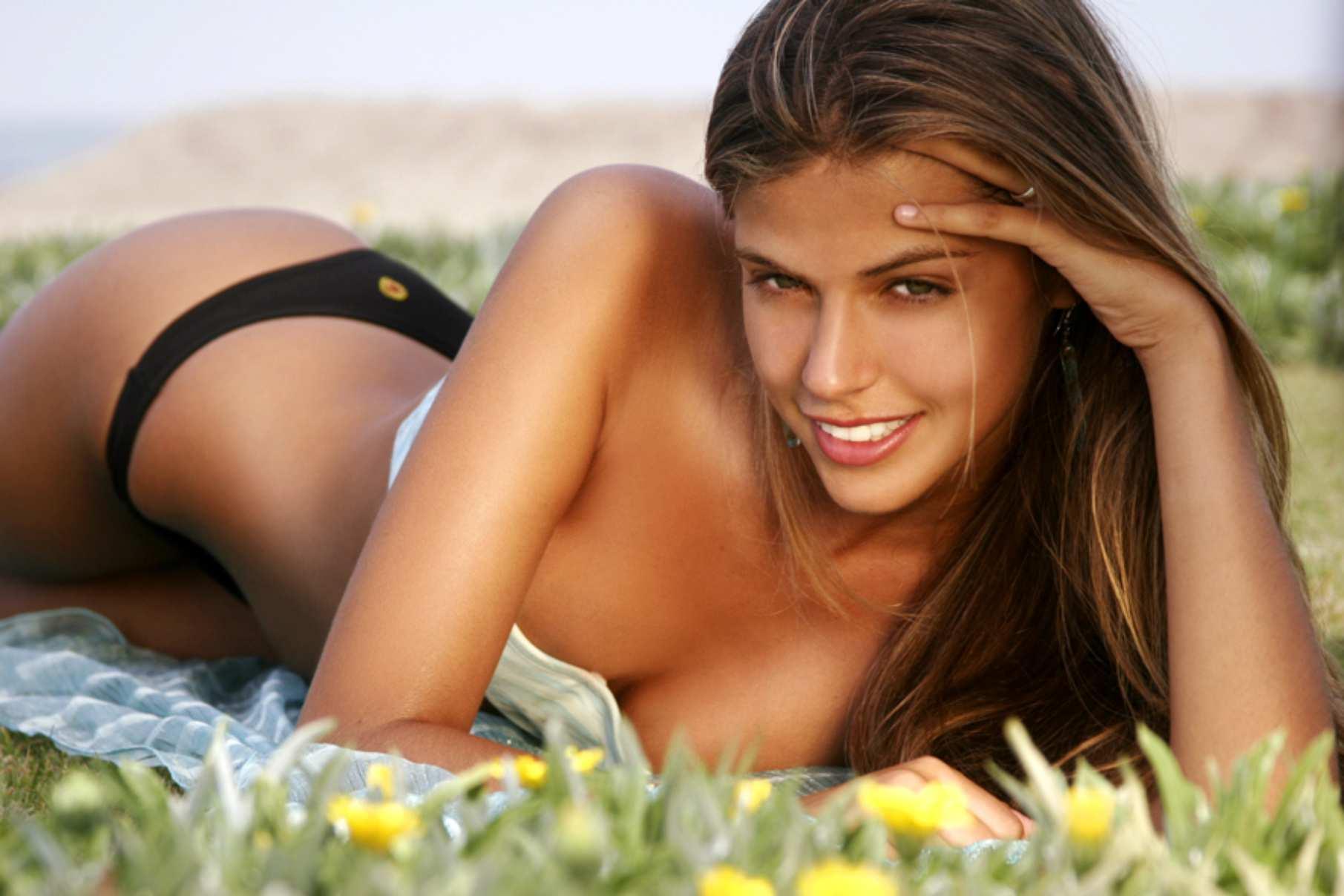 Stephanie Cayo in a bikini