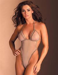 Karen McDougal in lingerie - breasts