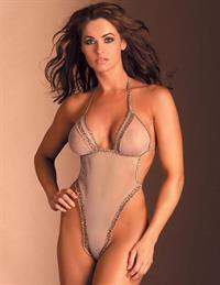 Karen McDougal in lingerie - breasts