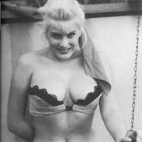 June Wilkinson in lingerie