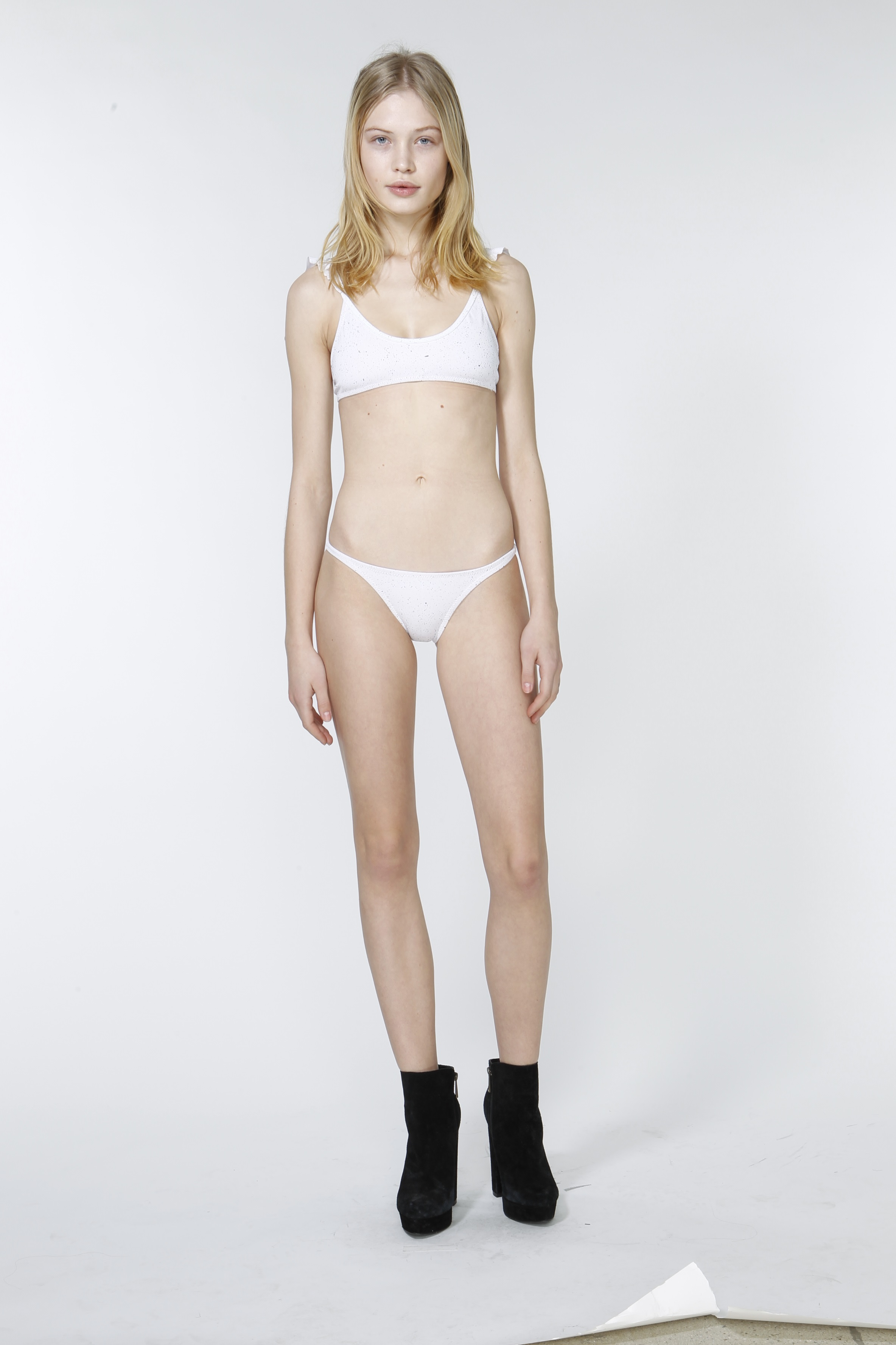 Camilla Forchhammer Christensen in lingerie