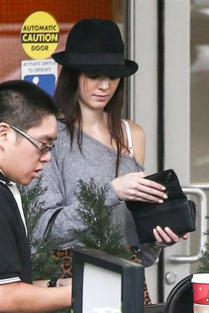 Kendall Jenner out Christmas shopping at Westfield Topanga Mall, CA December 23, 2012