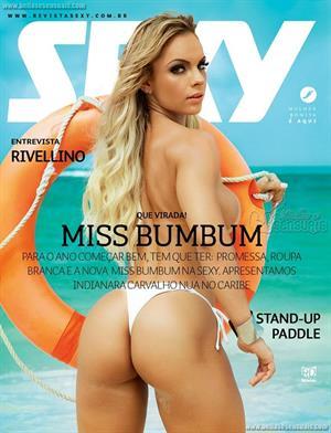 Indianara Carvalho Miss Bumbum Brazil 2014