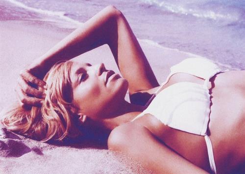 Lisa D'Amato in a bikini
