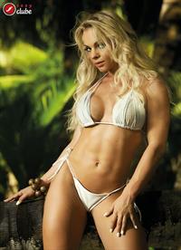 Indianara Carvalho in a bikini