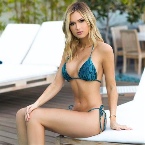 Ela Rose in a bikini