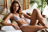 Edita Vilkeviciute in lingerie