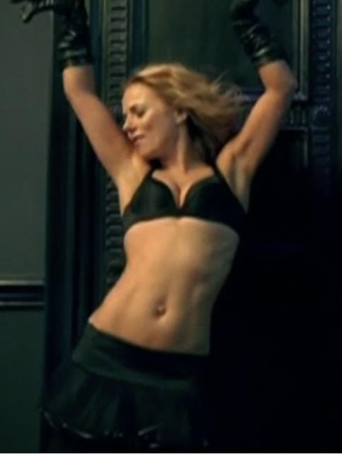 Geri Halliwell in lingerie