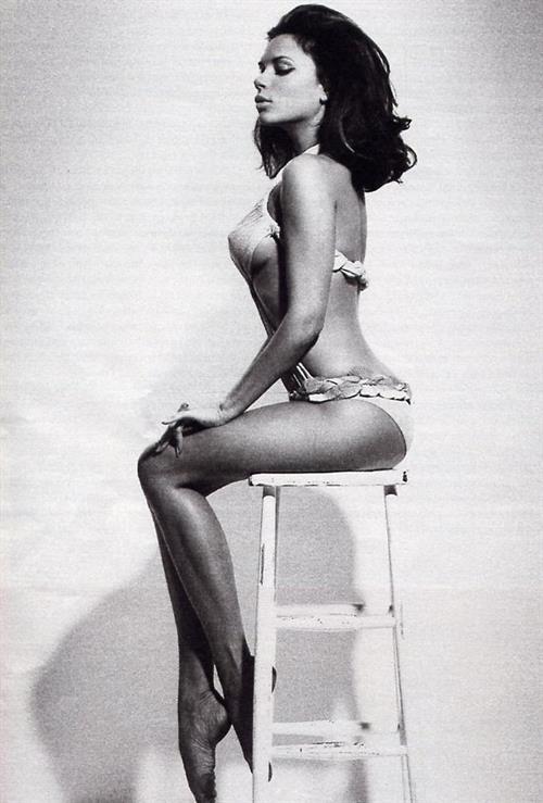 Victoria Beckham in lingerie