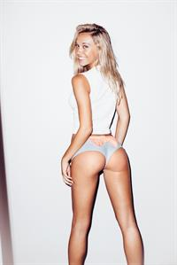 Alexis Ren in lingerie - ass