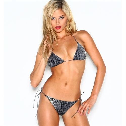 Audrey Allen in a bikini