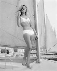 Farrah Fawcett in lingerie