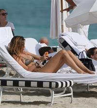 Aída Yéspica in a bikini in lingerie