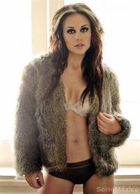 Zuria Vega in lingerie