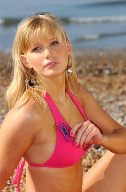 Kate Mahoney in a bikini