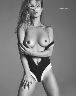 Joanna Krupa nude for Treats magazine